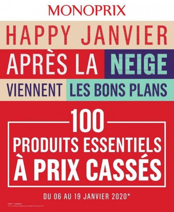 Happy Janvier . Monoprix (2020-01-19-2020-01-19)