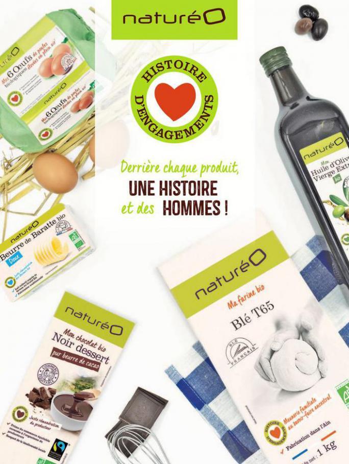 Les produits à la marque naturéO . NaturéO (2020-03-31-2020-03-31)