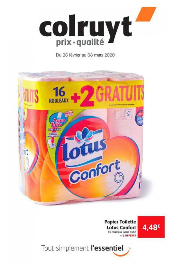 Prix - Qualité . Colruyt (2020-03-08-2020-03-08)
