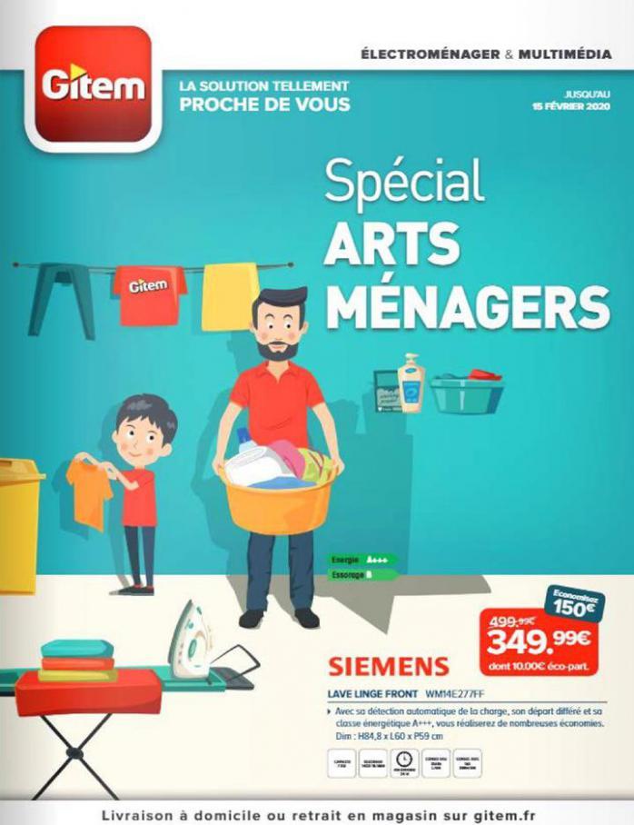Spécial arts ménagers  . Gitem (2020-02-15-2020-02-15)