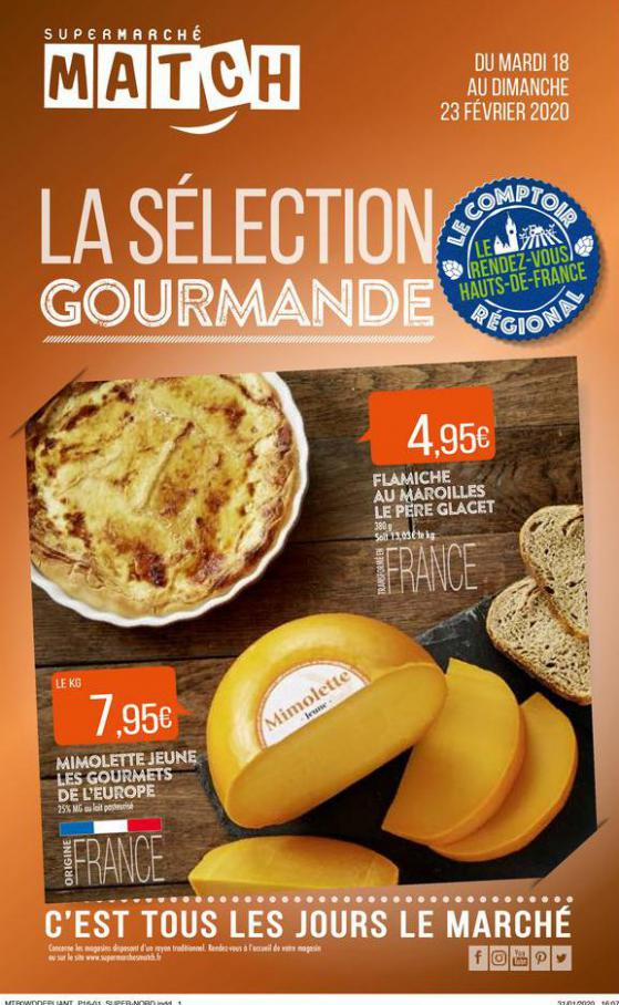 La sélection gourmande . Match (2020-02-23-2020-02-23)