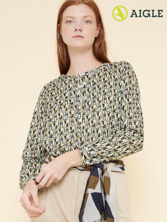 Chemises Femme . Aigle (2020-04-17-2020-04-17)