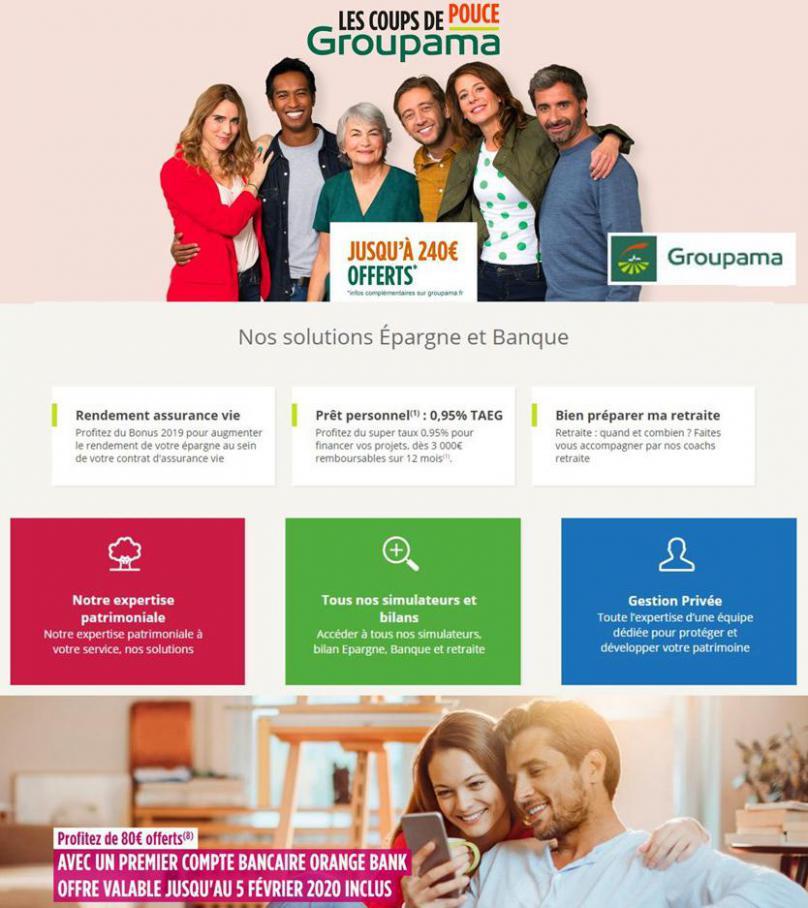 Offres Groupama . Groupama (2020-03-31-2020-03-31)