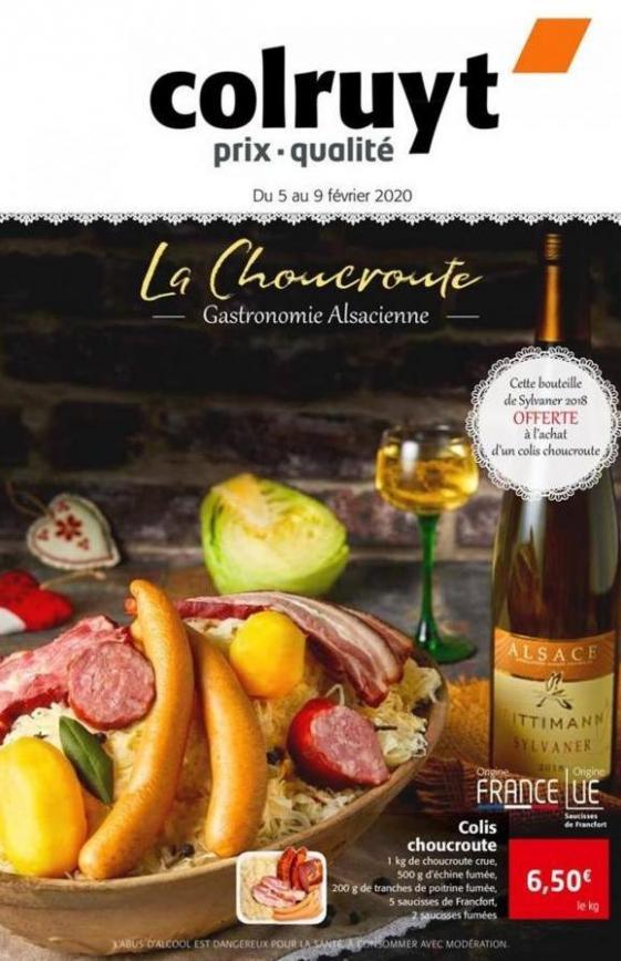La Choucroute  . Colruyt (2020-02-09-2020-02-09)