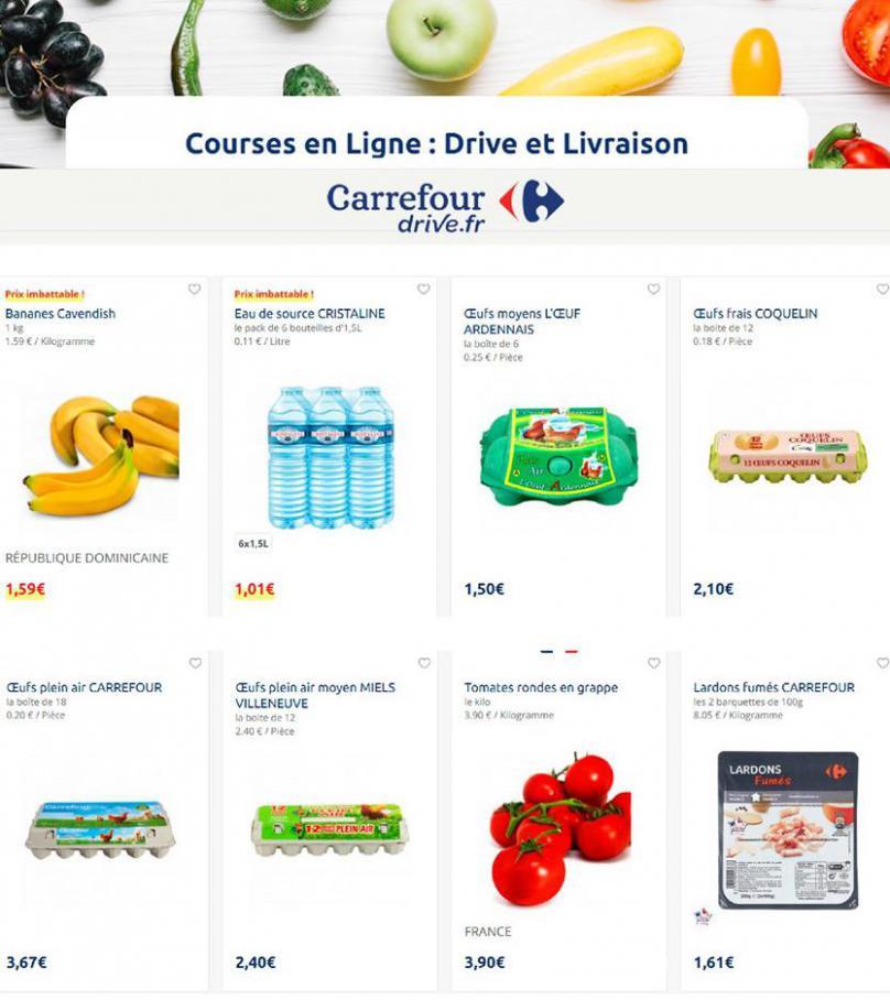 Offres Carrefour Drive . Carrefour Drive (2020-03-23-2020-03-23)