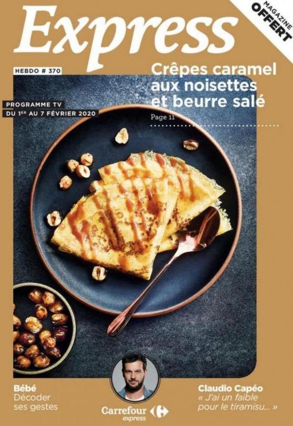 Express Hebdo S6 . Carrefour Express (2020-02-07-2020-02-07)