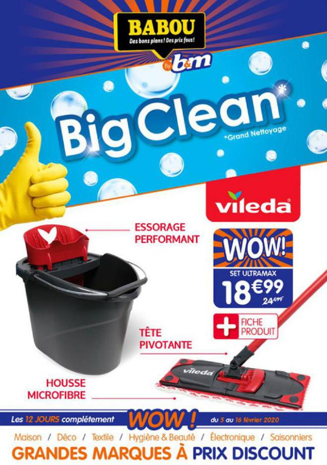 Big Clean . Babou (2020-02-16-2020-02-16)
