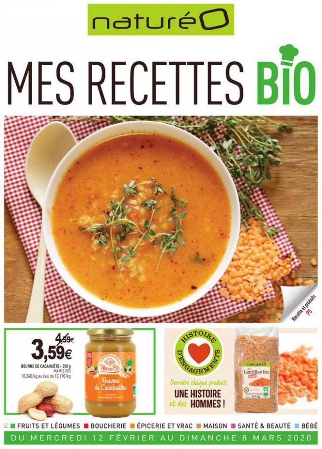 Mes recettes bio . NaturéO (2020-03-08-2020-03-08)