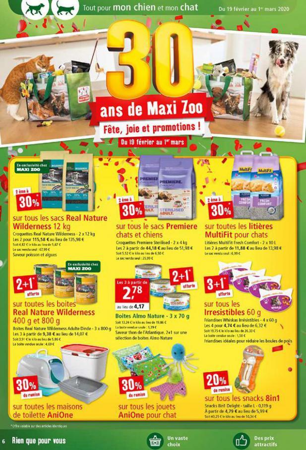 30 ans de Maxi Zoo . Maxi Zoo (2020-03-01-2020-03-01)