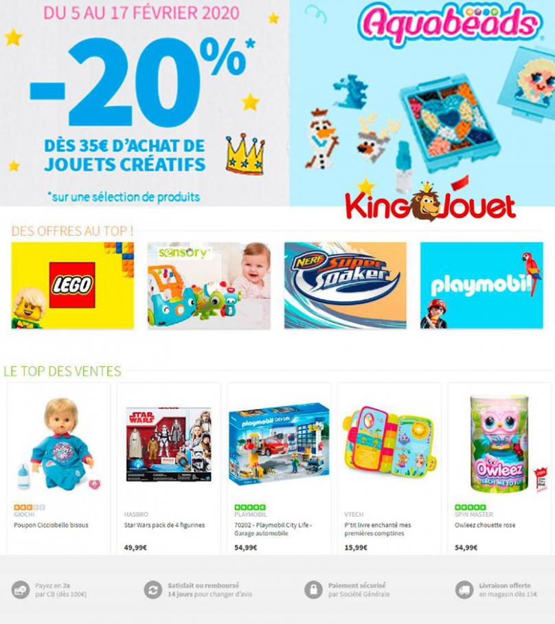 Catalogue King Jouet . King Jouet (2020-02-17-2020-02-17)