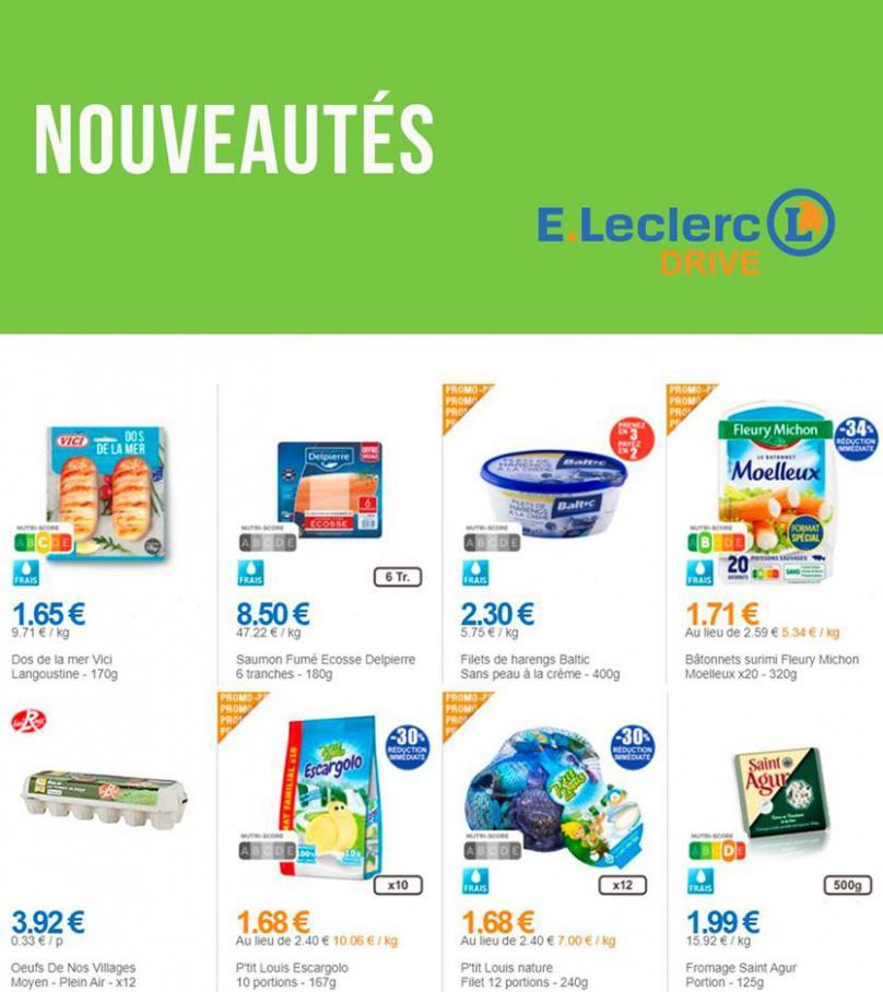 Nouveautés . E.Leclerc Drive (2020-04-13-2020-04-13)