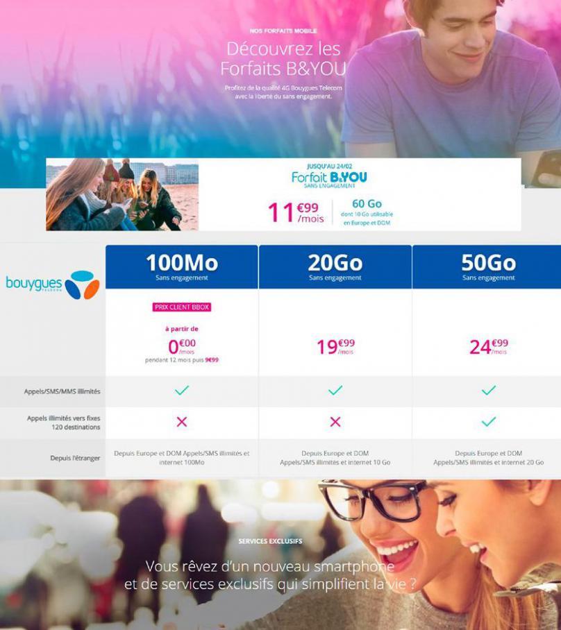 Offres Bouygues Telecom . Bouygues Telecom (2020-04-20-2020-04-20)