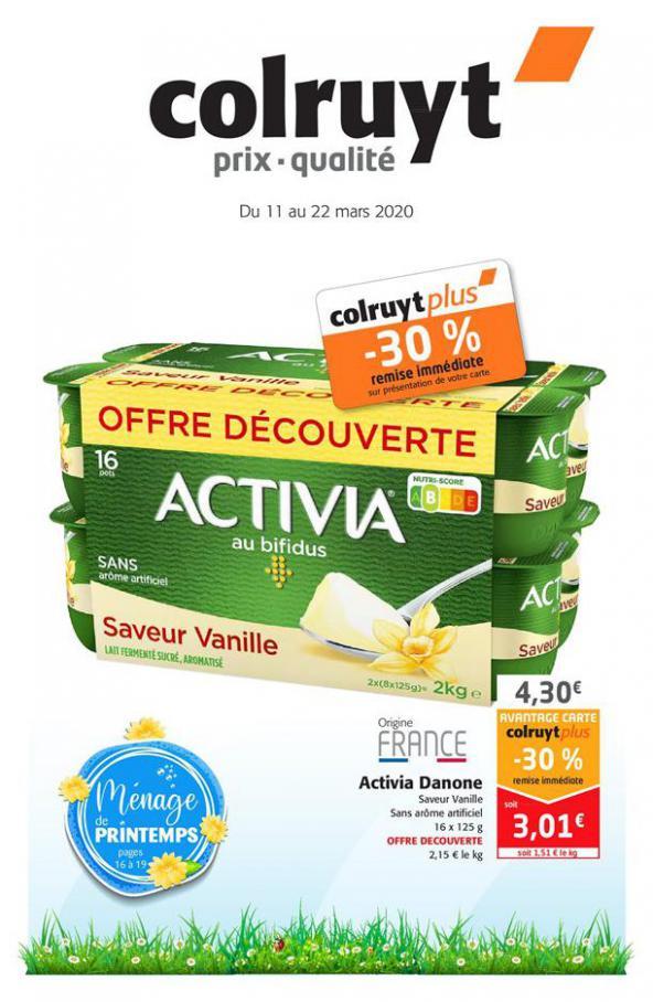 Catalogue Colruyt . Colruyt (2020-03-22-2020-03-22)