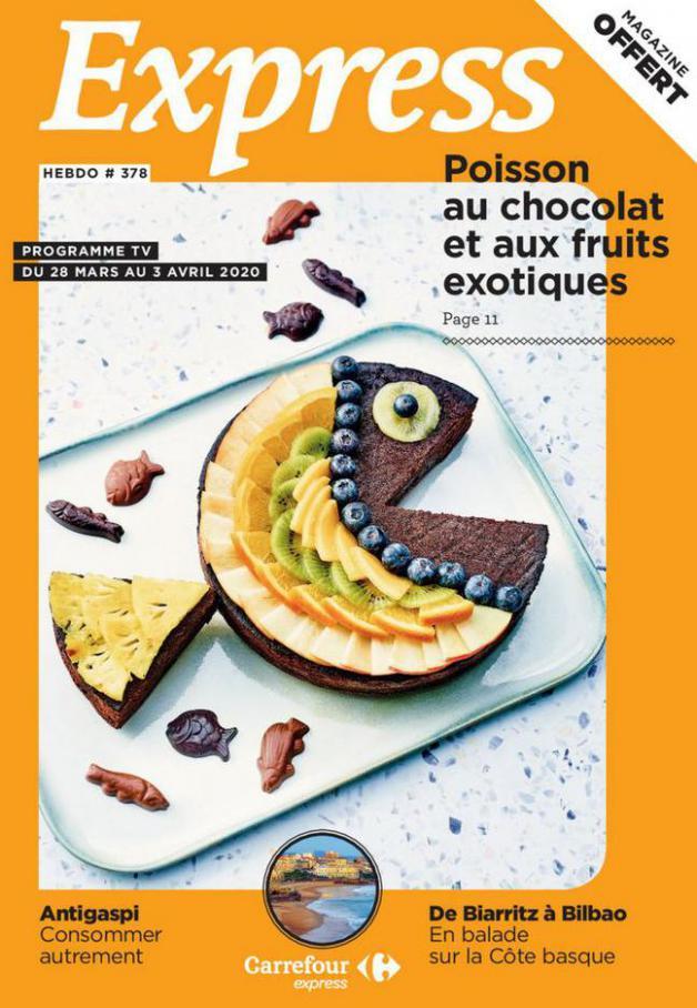 Express Hebdo S14 . Carrefour Express (2020-04-03-2020-04-03)