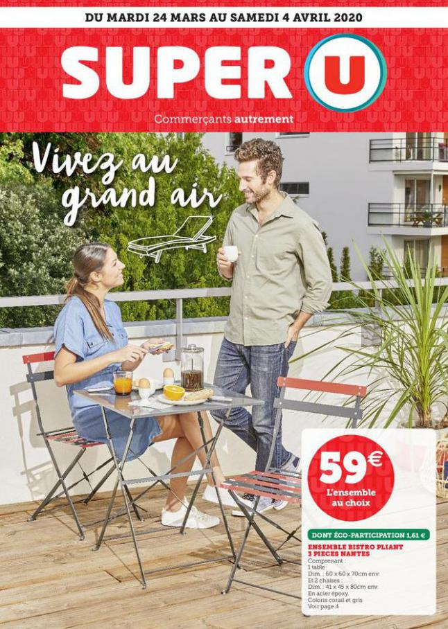 VIVEZ AU GRAND AIR . Super U (2020-04-04-2020-04-04)