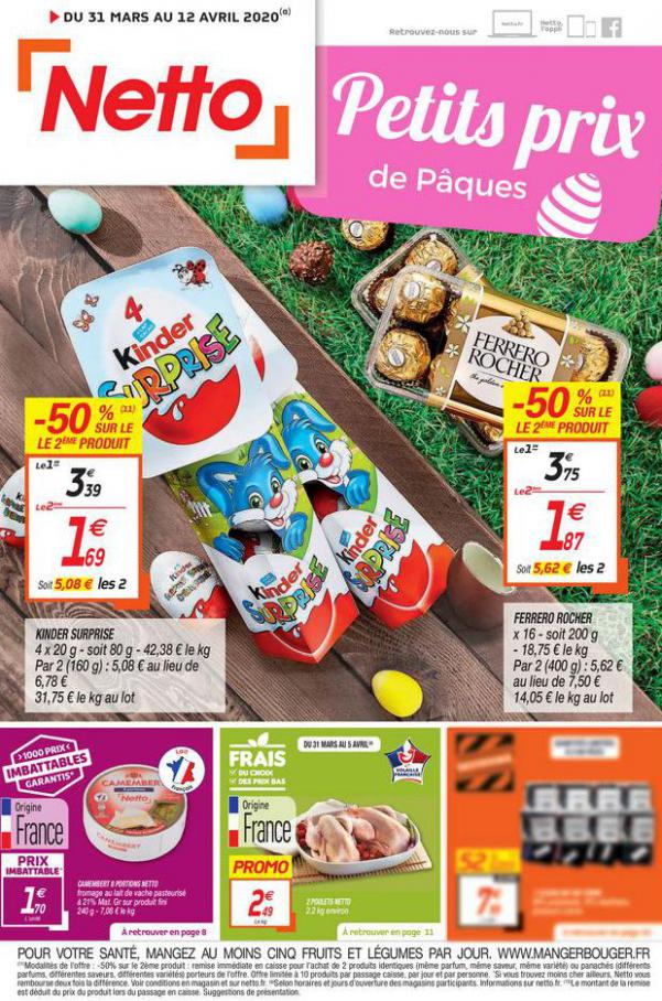 Catalogue Netto . Netto (2020-04-12-2020-04-12)