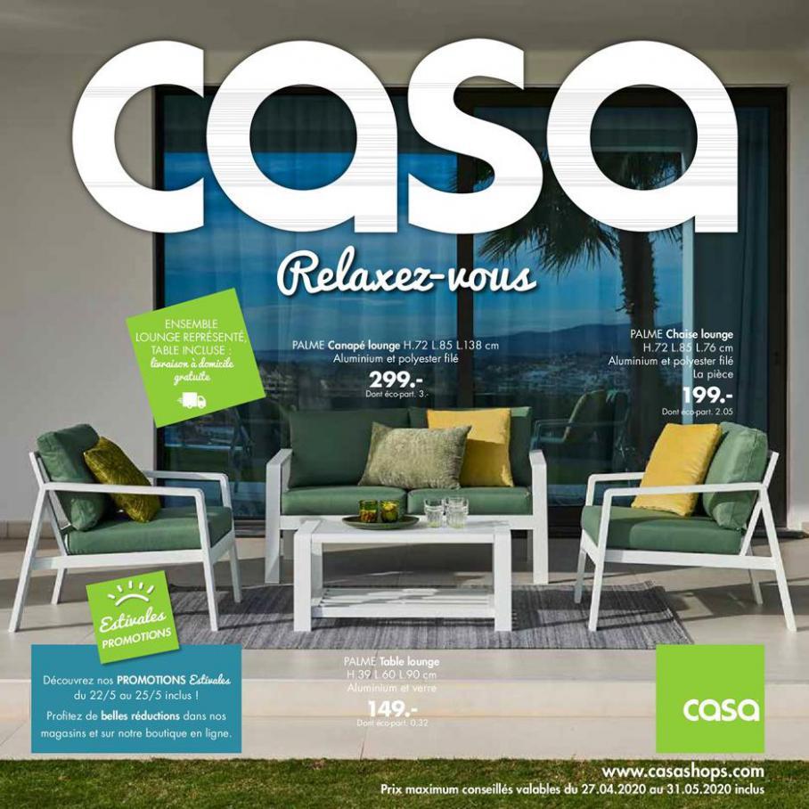 Relaxez-vous . Casa (2020-05-31-2020-05-31)