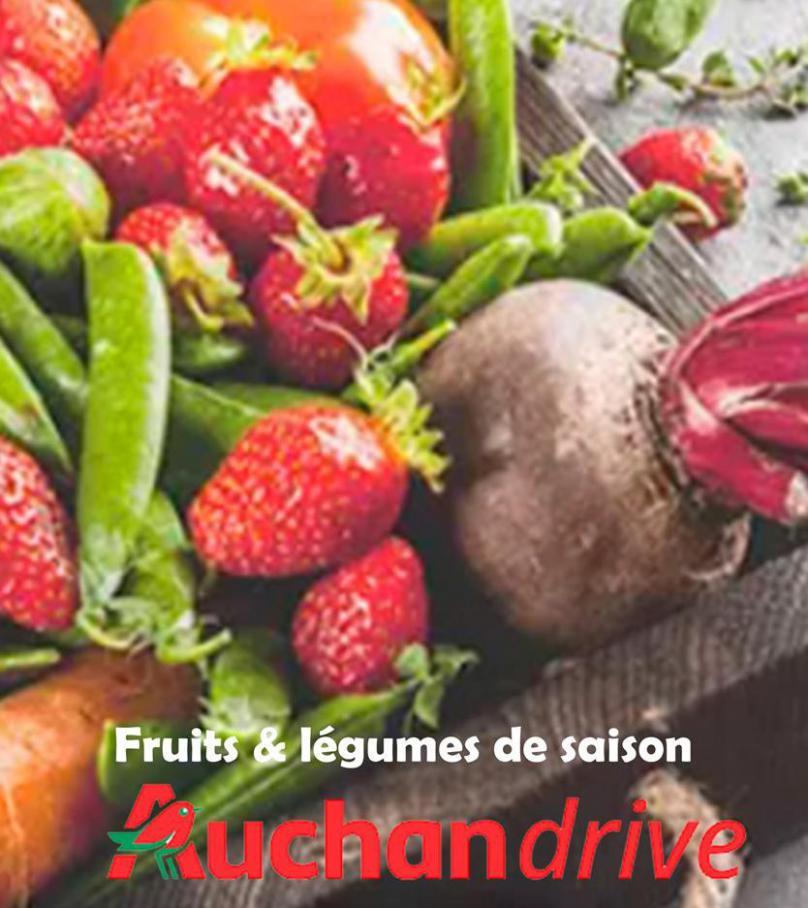 Fruits & légumes de saison . Auchan Drive (2020-05-18-2020-05-18)