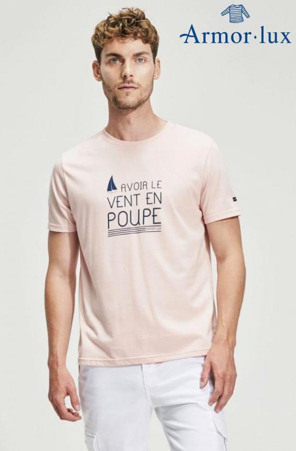 T- Shirts Homme . Armor Lux (2020-06-21-2020-06-21)