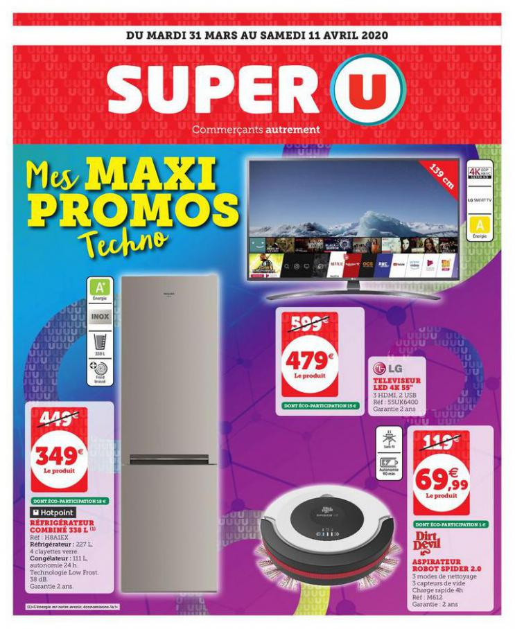 MES MAXI PROMOS TECHNO . Super U (2020-04-11-2020-04-11)