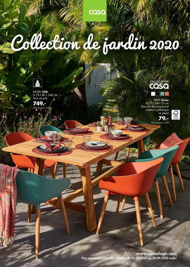 Collection de jardin 2020 . Casa (2020-09-30-2020-09-30)