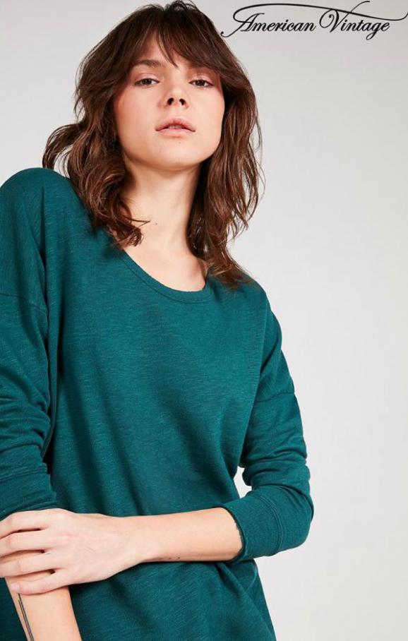 Tops & Shirts Femme . American Vintage (2020-06-08-2020-06-08)