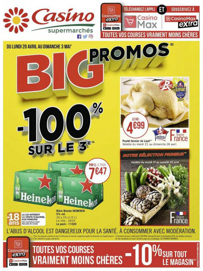 Big promos . Casino Supermarchés (2020-05-03-2020-05-03)