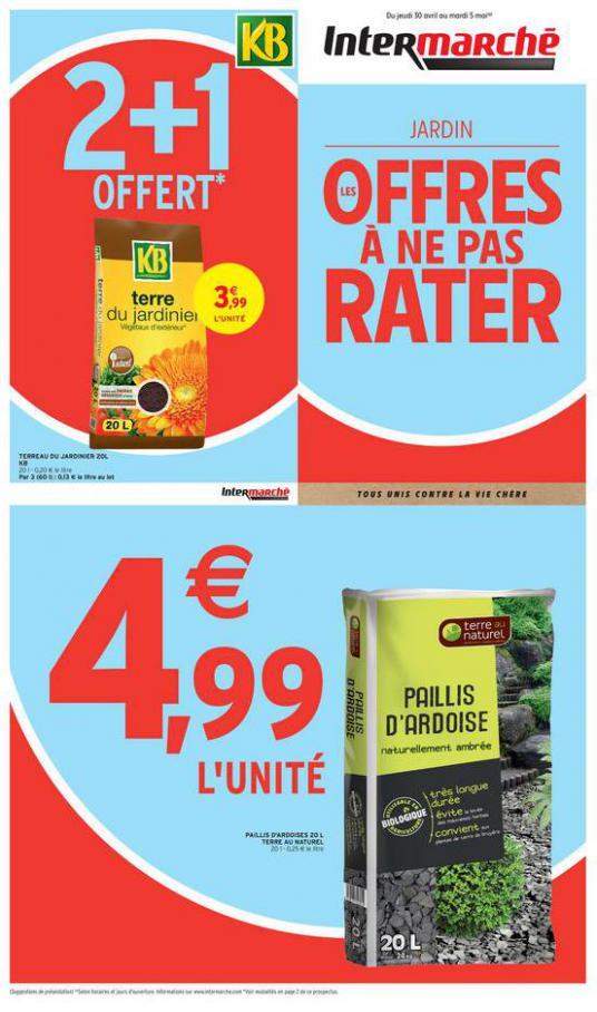LES OFFRES À NE PAS RATER . Intermarché (2020-05-05-2020-05-05)