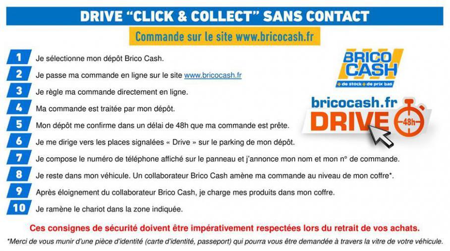 Procédure de retrait sans contact . Brico Cash (2020-04-13-2020-04-13)