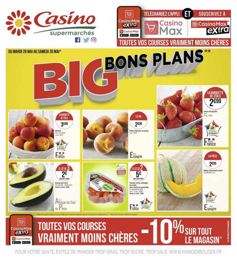 Big bons plans . Casino Supermarchés (2020-05-30-2020-05-30)