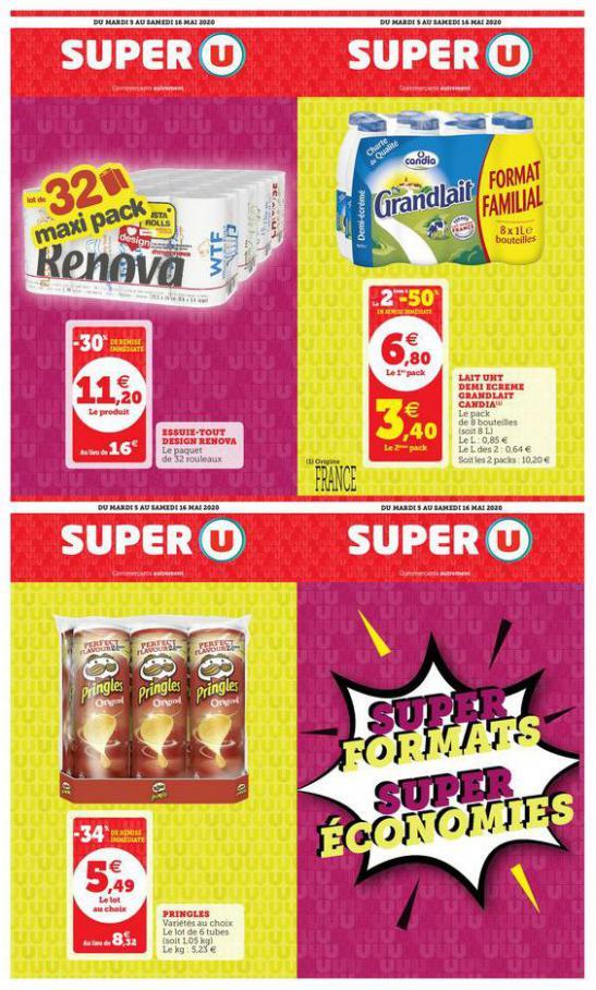 SUPER FORMATS SUPER ÉCONOMIES . Super U (2020-05-16-2020-05-16)