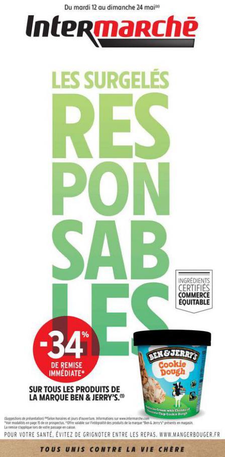 LES SURGELÉS RESPONSABLES . Intermarché (2020-05-24-2020-05-24)