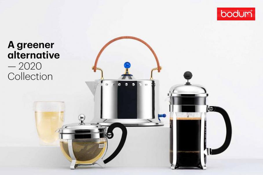 A greener alternative - 2020 Collection . Bodum (2020-12-31-2020-12-31)