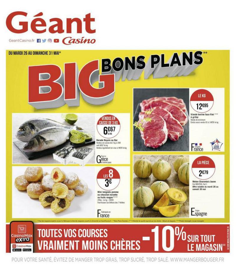 Big bons plans . Géant Casino (2020-05-31-2020-05-31)
