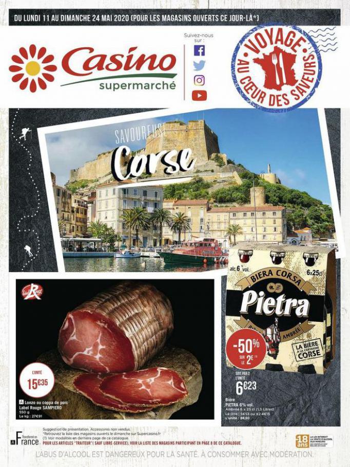 Savoureuse Corse . Casino Supermarchés (2020-05-24-2020-05-24)