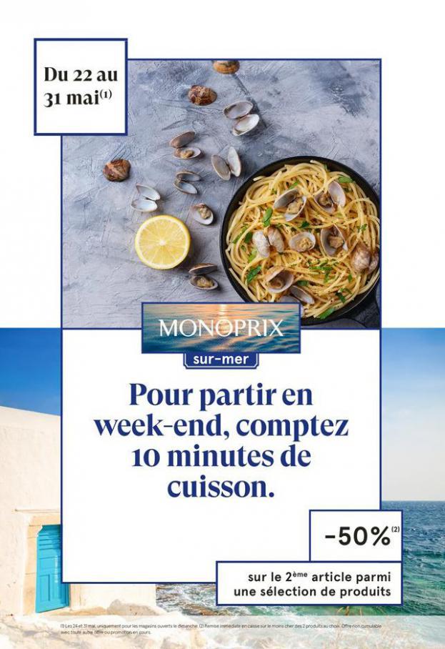 Monoprix sur mer . Monoprix (2020-05-31-2020-05-31)