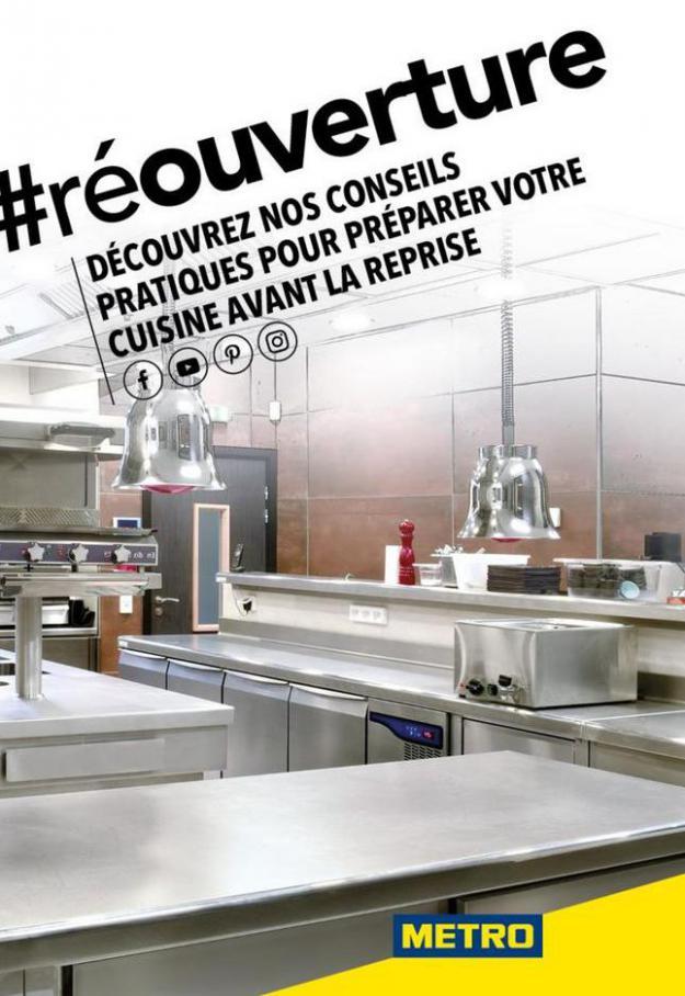 Redemarrage Cuisine COVID19 . Metro (2020-05-31-2020-05-31)