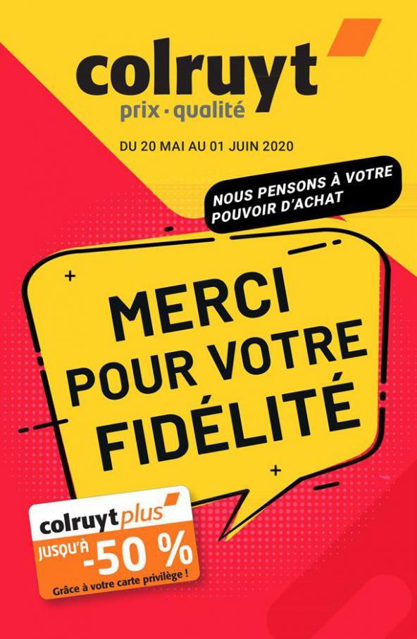 Catalogue Colruyt . Colruyt (2020-06-01-2020-06-01)