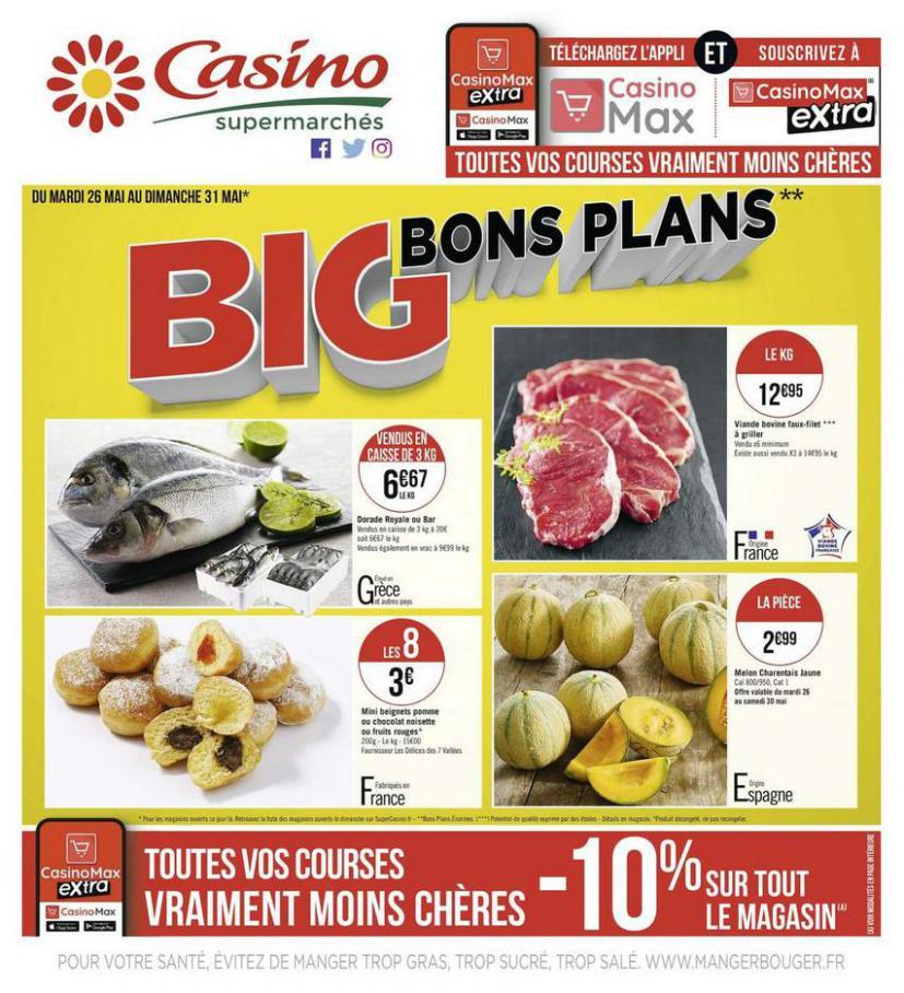 Big bons plans . Casino Supermarchés (2020-05-31-2020-05-31)