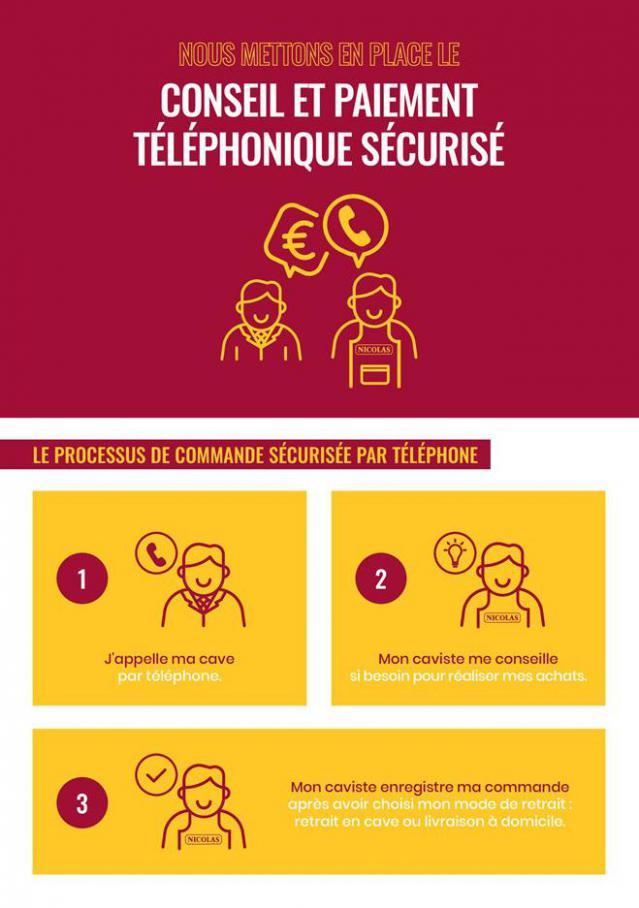 Conseil et paiement téléphonique sécurisé . Nicolas (2020-05-31-2020-05-31)