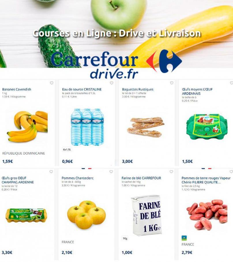 Offres Carrefour Drive . Carrefour Drive (2020-06-08-2020-06-08)