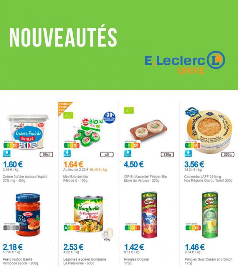 Nouveautés . E.Leclerc Drive (2020-06-29-2020-06-29)