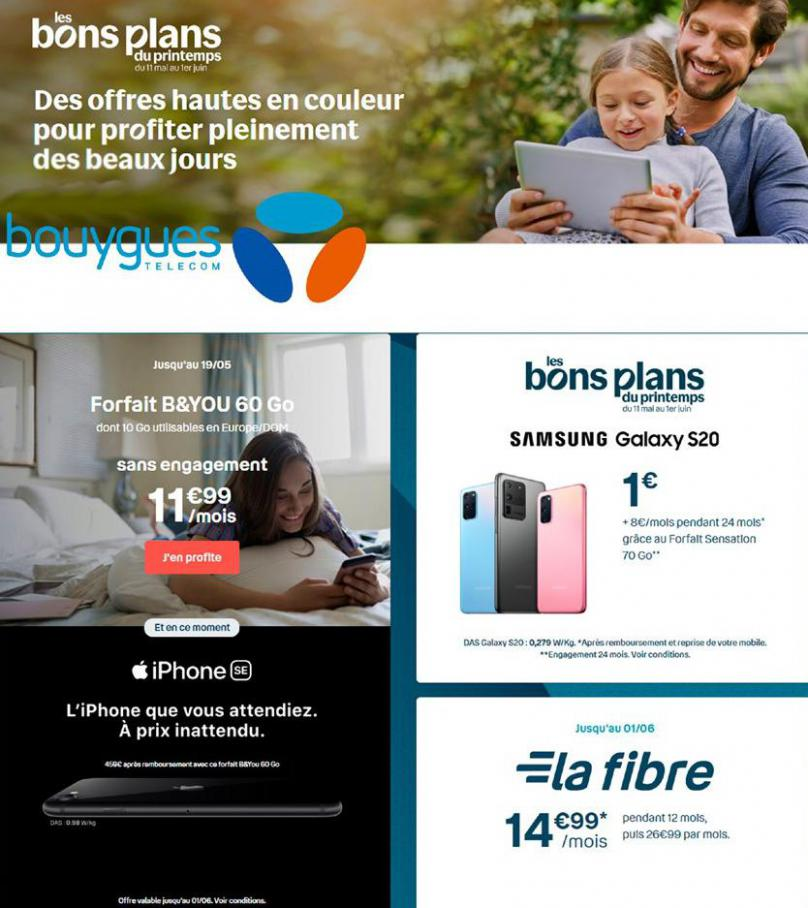 Offres Bouygues Telecom . Bouygues Telecom (2020-06-01-2020-06-01)