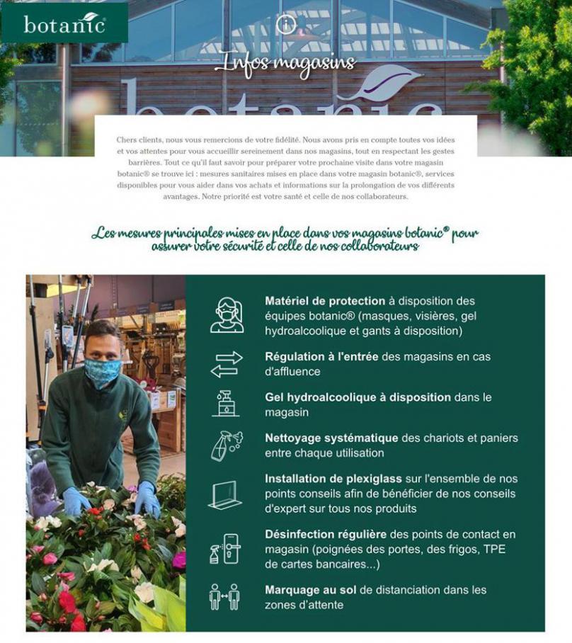 Infos magasins . Botanic (2020-05-31-2020-05-31)