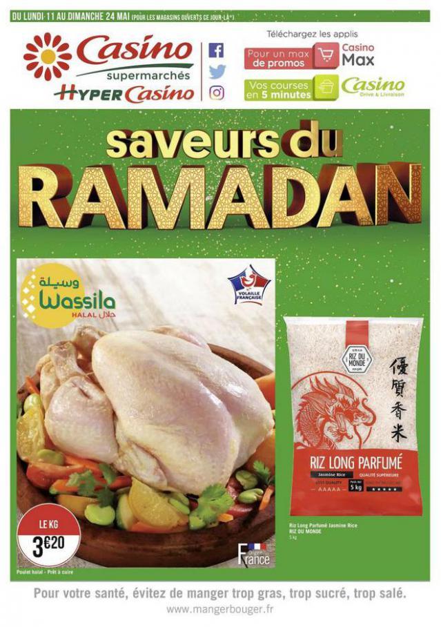 Saveurs du Ramadan . Casino Supermarchés (2020-05-24-2020-05-24)