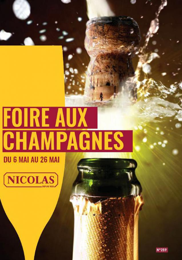 Foire aux champagnes  . Nicolas (2020-05-26-2020-05-26)