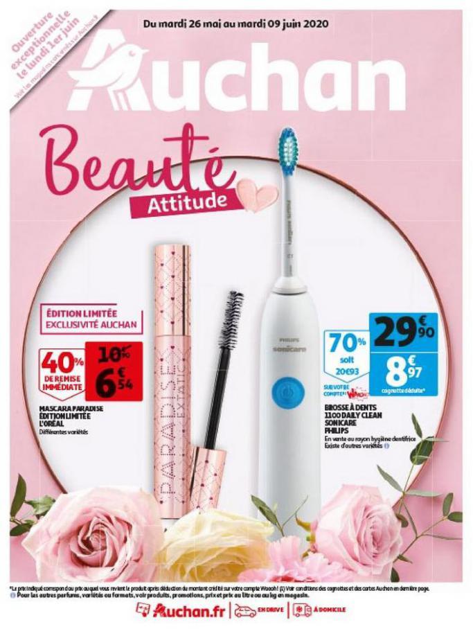 Beauté Attitude . Auchan (2020-06-09-2020-06-09)