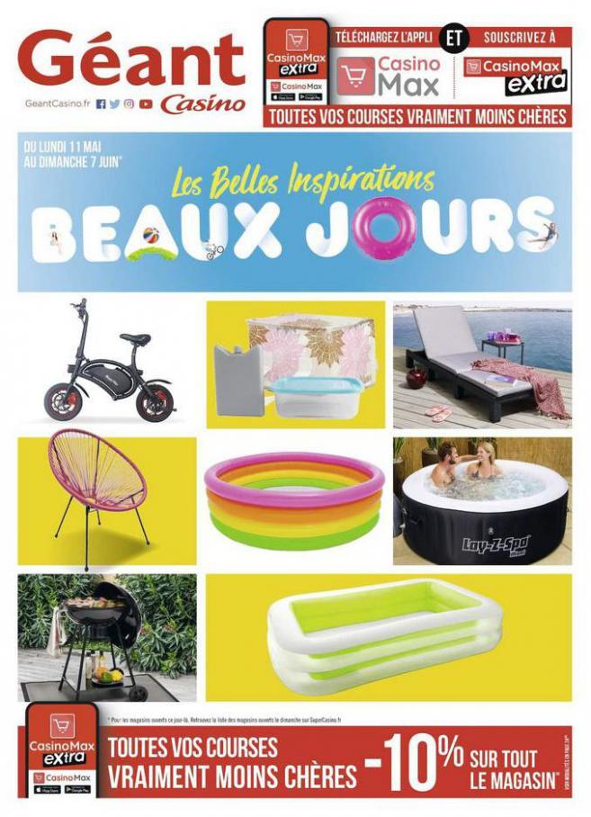 Les belles inspirations beaux jours . Géant Casino (2020-06-07-2020-06-07)