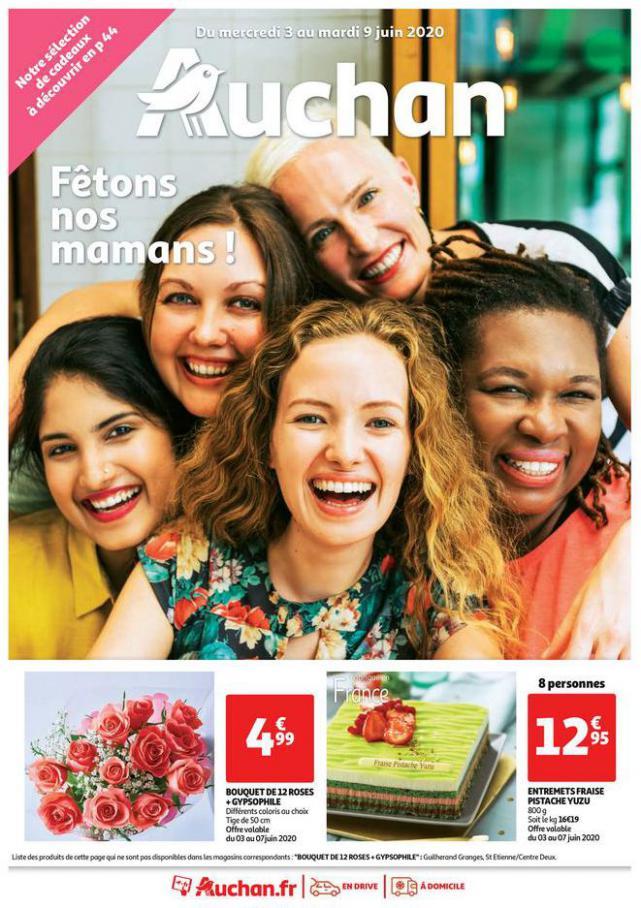 Fêtons nos mamans ! . Auchan (2020-06-09-2020-06-09)