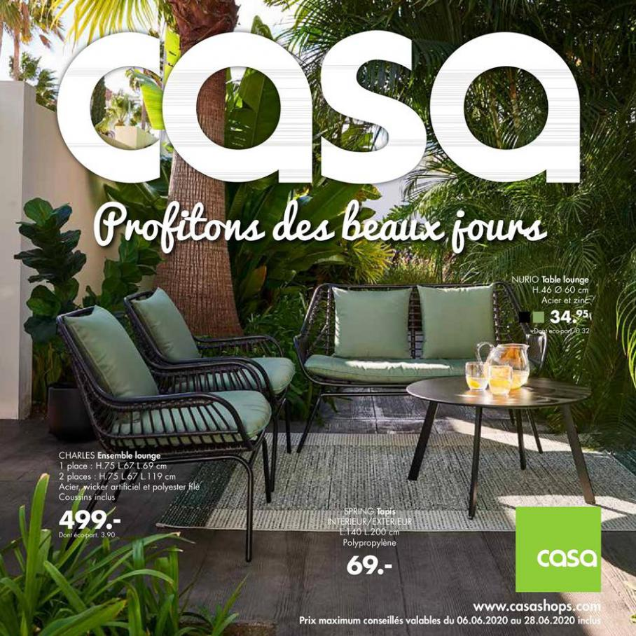 Profitons des beaux jours . Casa (2020-07-05-2020-07-05)